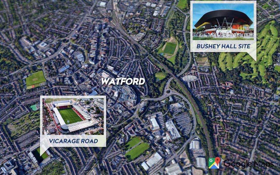 Watford FC new stadium