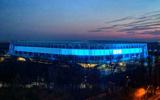 Bucharest: Stadionul Steaua shines! But fans have to wait