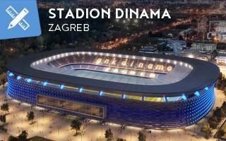 New design: Dinamo reveals details of new Maksimir