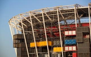 Qatar: Fully demountable stadium close to completion
