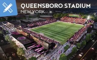 New design: New York's first professional soccer stadium