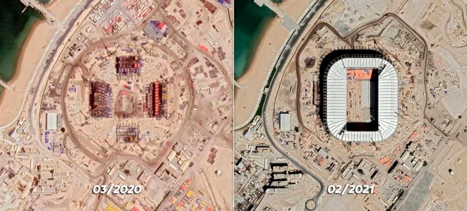 Ras Abu Aboud Stadium, Doha, Qatar