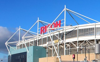 England: 'The Ricoh' no more, new naming rights in Coventry