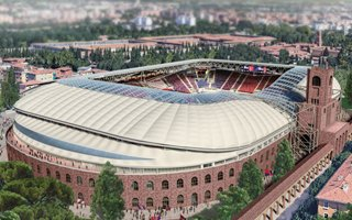 Bologna: Awaiting for final approval of stadium