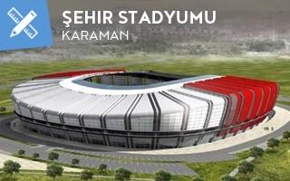 New design: New Karaman stadium growing slowly
