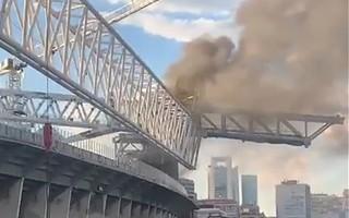 Madrid: Clouds of smoke over Bernabéu