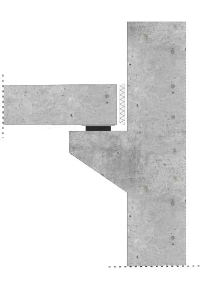 prefabrykat żelbetowy z podkładką