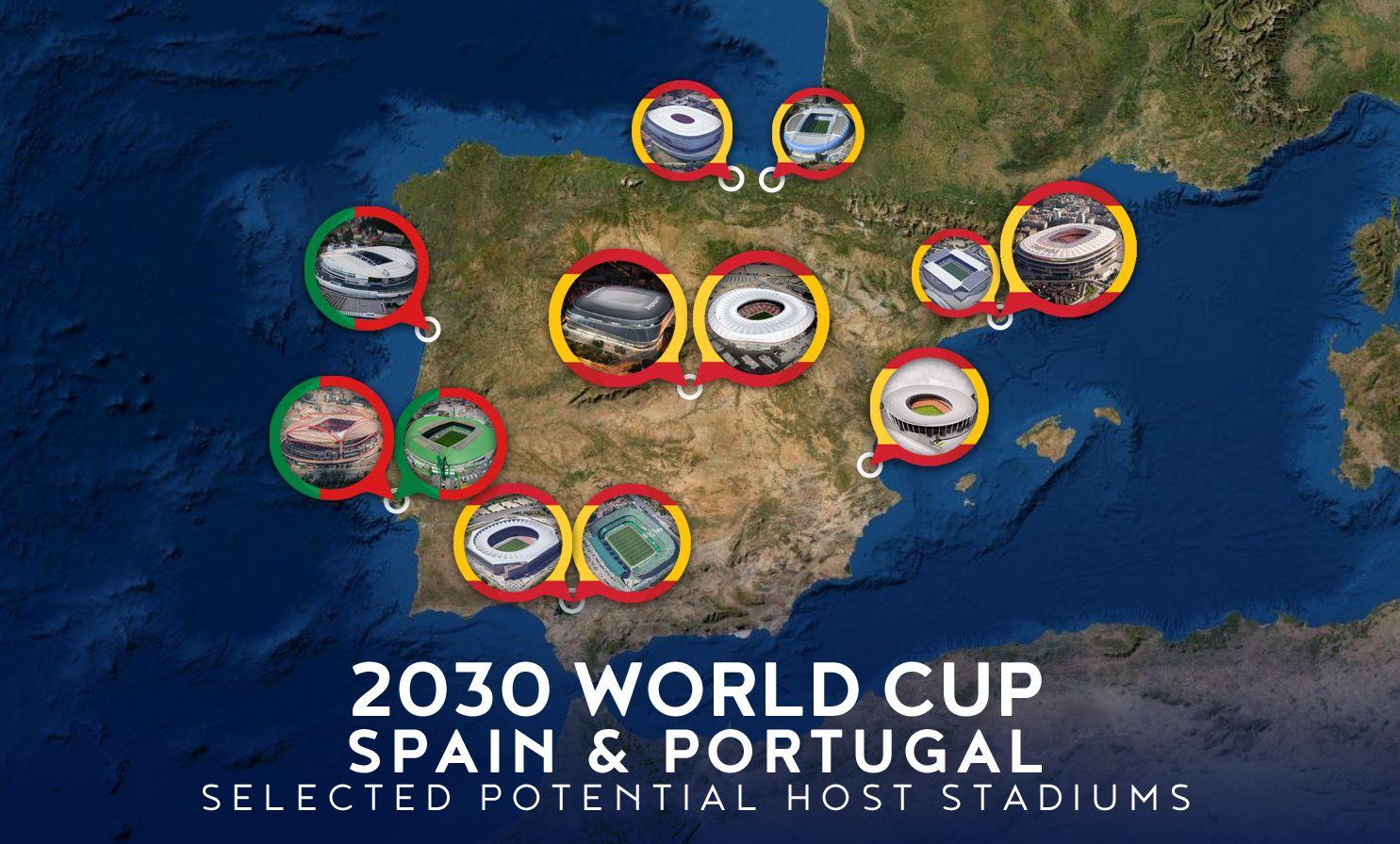 Mistrzostwa Świata 2030 - kandydatura Hiszpanii i Portugalii