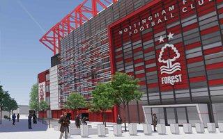 England: Nottingham Forest further adjust stadium design