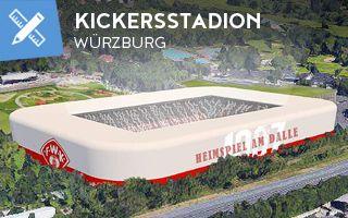 New design: Kickers' stadium plans still on despite relegation