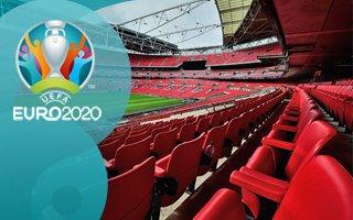 Euro 2020: English fan rushed to hospital after fall