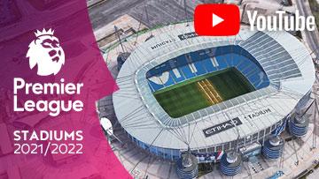 Premier League Stadiumd 2021/2022