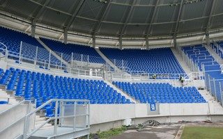 Germany: Karlsruhe ready for (partial) opening of new stadium