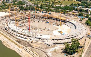 Budapest: National Athletics Stadium growing fast