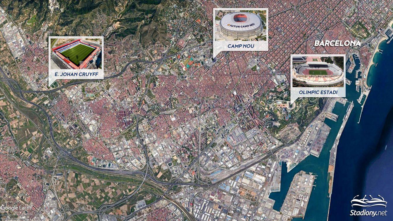 Camp Nou, stadion FC Barcelony, czeka na rozbudowę