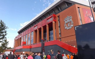 England: Chaos outside Anfield as new ticketing system fails