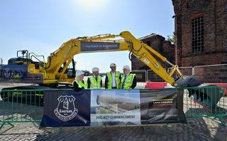 Liverpool: Formal groundbreaking at Bramley-Moore Dock