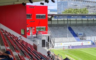 Germany: Brita-Arena no longer a tin can. Well, not entirely