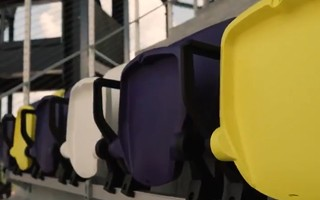 Nashville: First seats installed after just a year of construction