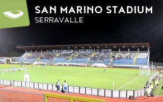 New stadium: San Marino joins the pack
