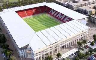 France: First stadium for Nîmes in 2022, second in 2026