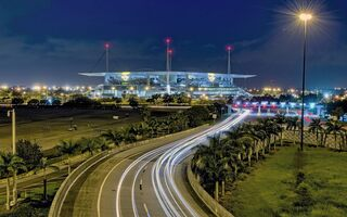 Hard Rock Stadium on road to glory with F1 and FIFA