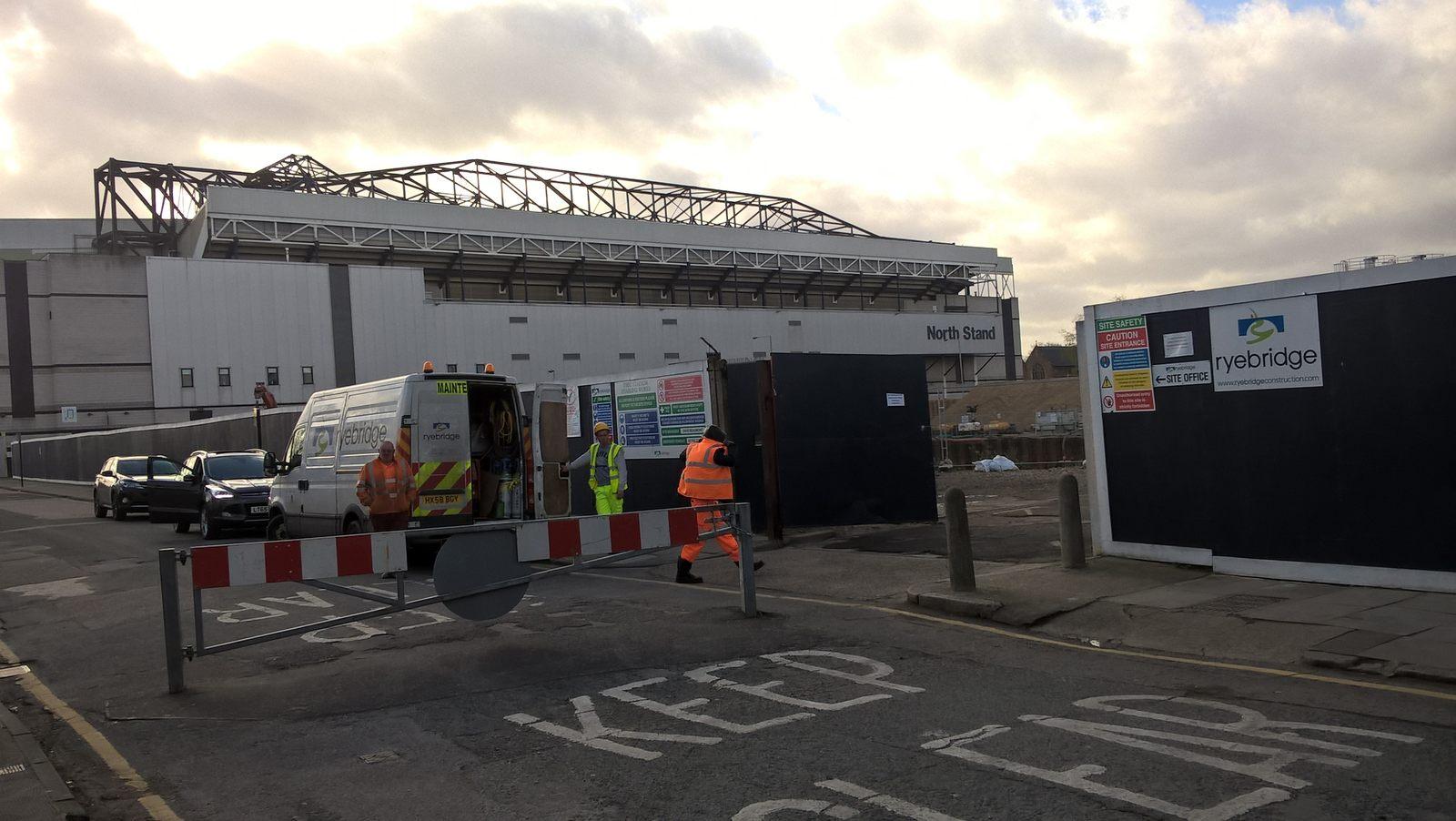 Construction New Tottenham Stadium