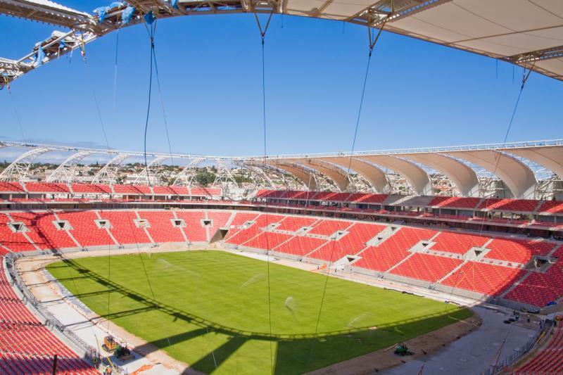 Construction Nelson Mandela Bay Stadium Stadiumdb Com