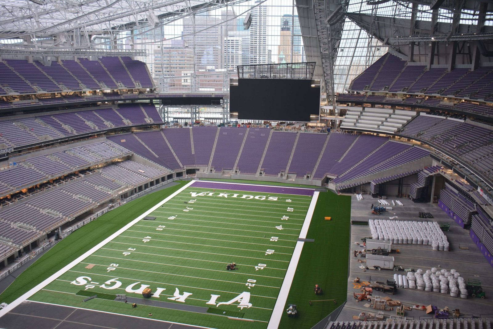 Construction U S Bank Stadium Vikings Stadium