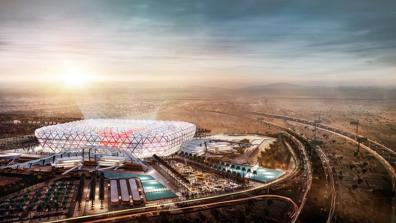 Design Al Ahly Stadium Stadiumdb Com