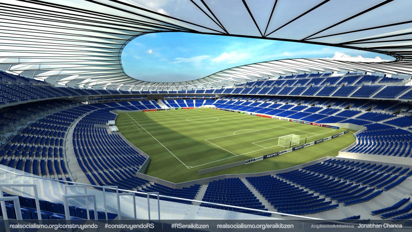Design Estadio Anoeta I Stadiumdb Com
