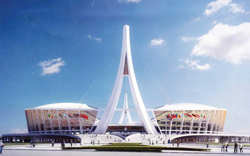 Design Morodok Techo National Stadium Stadiumdb Com