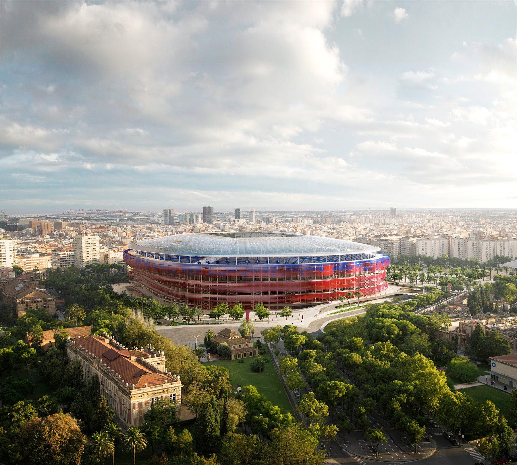 New Camp Nou Design