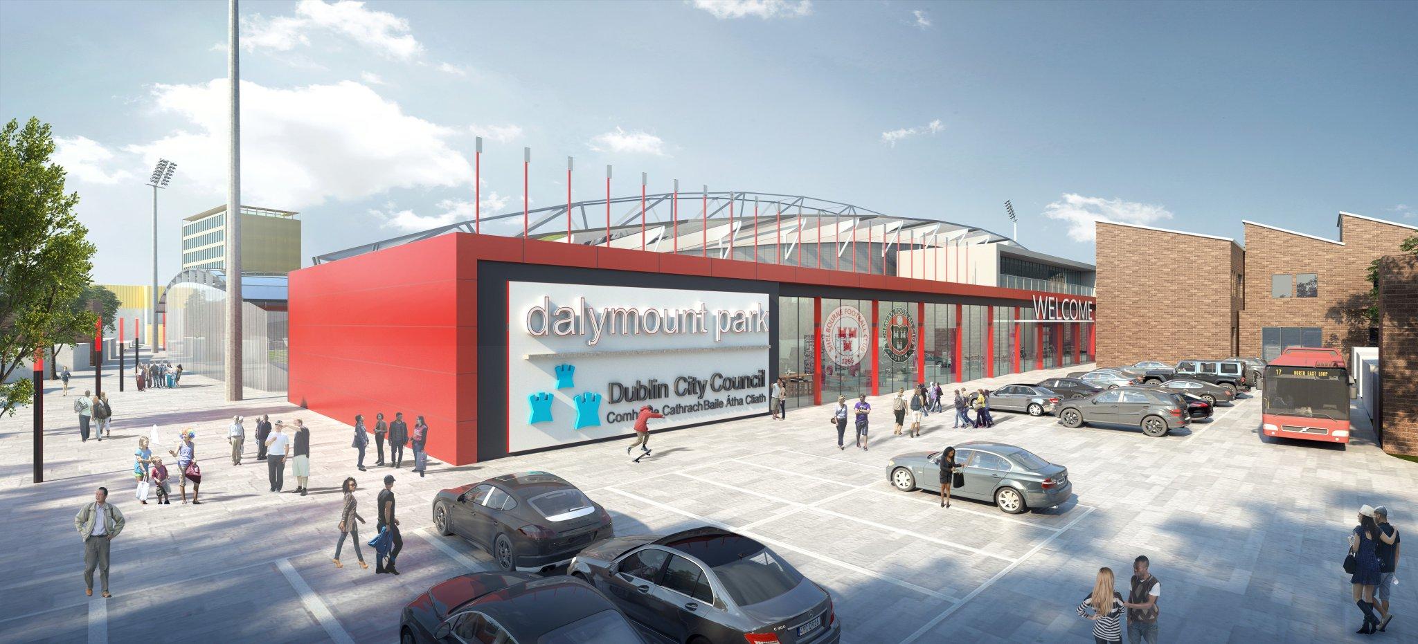 Design: Dalymount Park – StadiumDB com