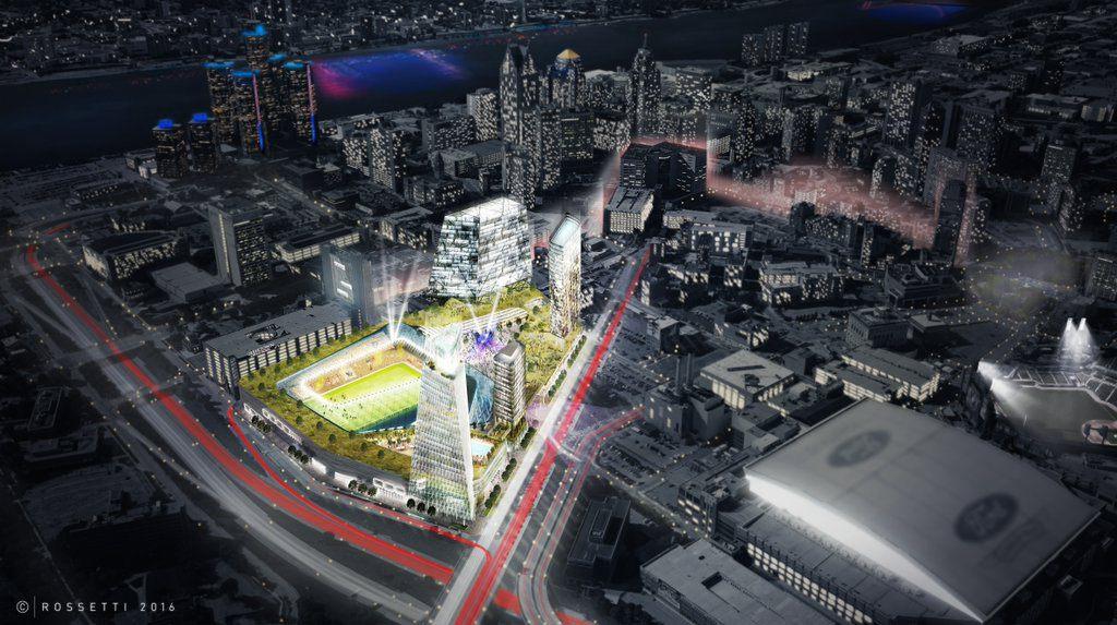 Design Detroit Mls Stadium Stadiumdb Com