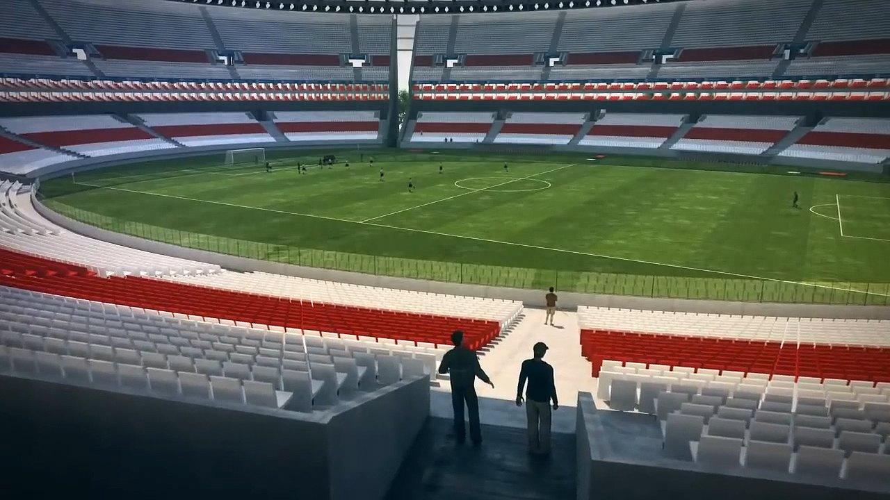 River Plate: Design: El Monumental