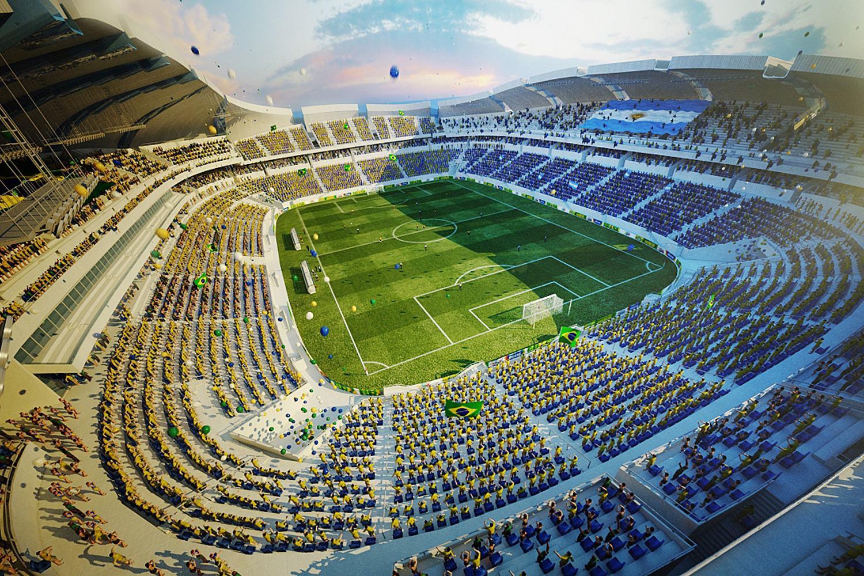 Design arena das dunas for Estadio arena