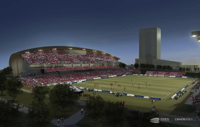 Design Frank Clair Stadium Stadiumdb Com