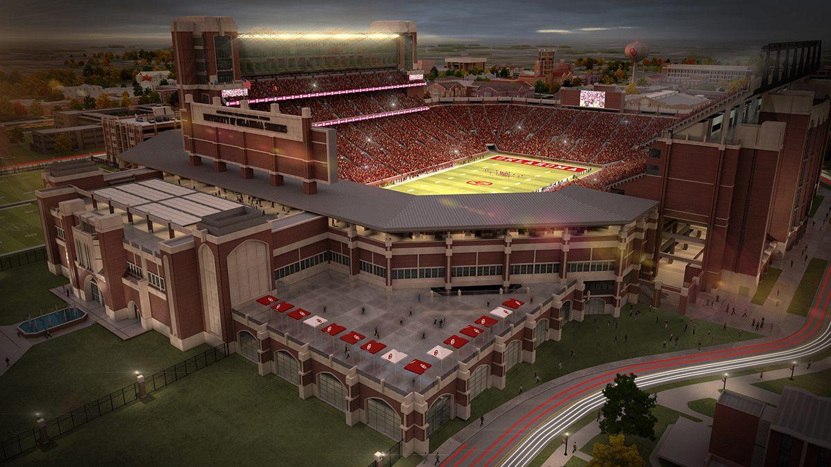 Design Oklahoma Memorial Stadium Stadiumdb Com