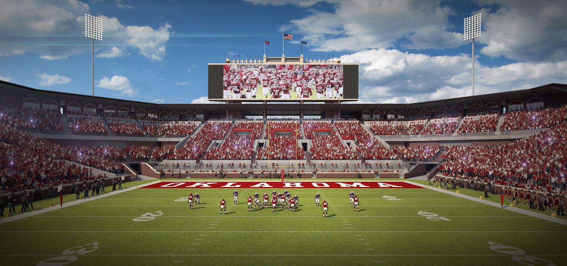 Design: Oklahoma Memorial Stadium – StadiumDB.com