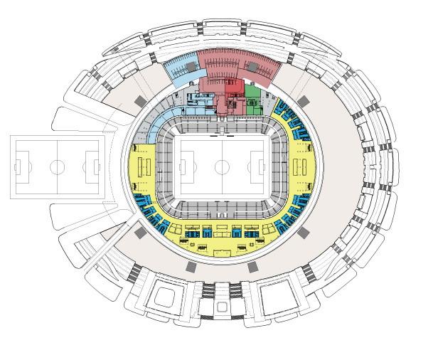 Зенит арена схема