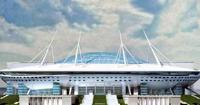 Futbol'nyj stadion v zapadnoj chasti Krestovskogo ostrova (Zenit Arena)