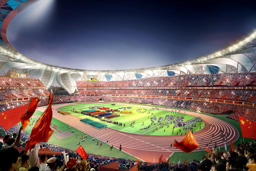 Design: Hangzhou Sports Park Stadium – StadiumDB.com