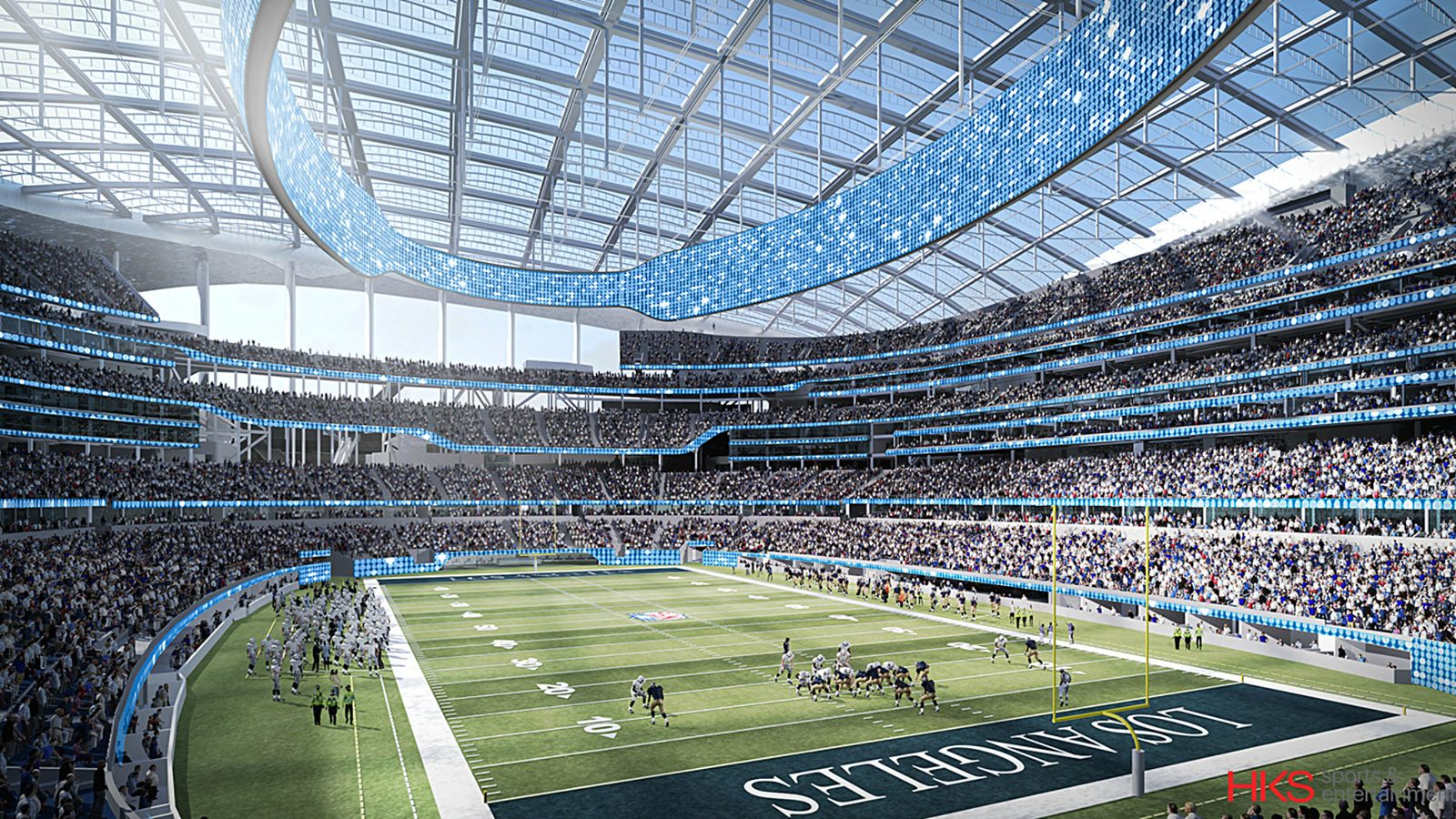 Design Hollywood Park Stadium Stadiumdb Com
