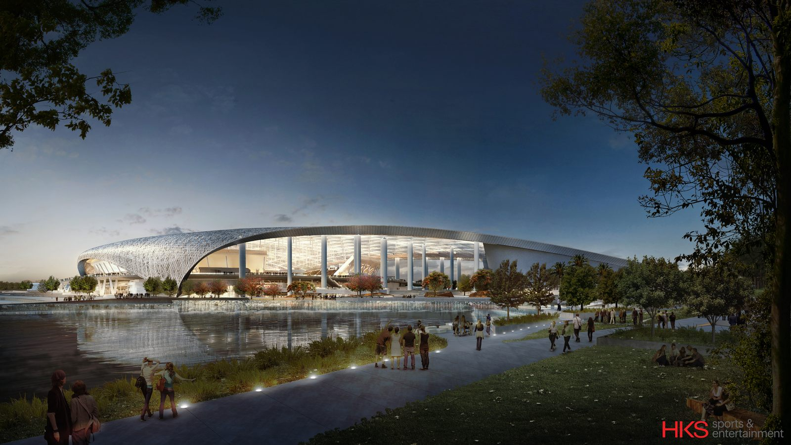 Design Hollywood Park Stadium Stadiumdb Com