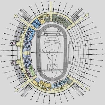 Design Jaber Al Ahmad International Stadium Stadiumdb Com