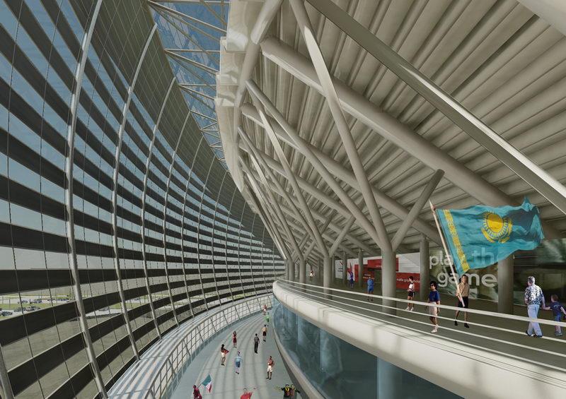 Design Kazakhstan National Stadium Stadiumdb Com