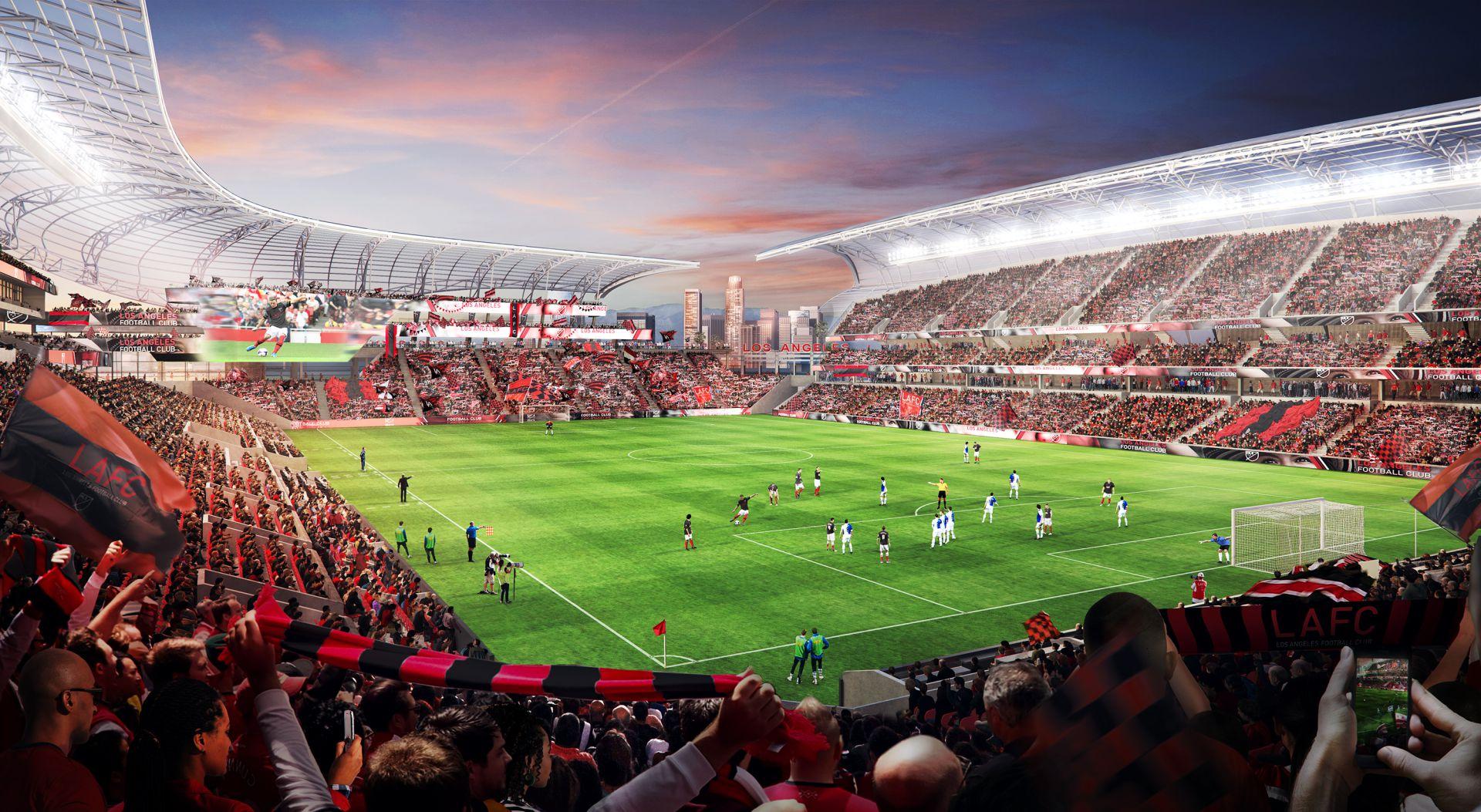 Design Banc Of California Stadium Stadiumdb Com