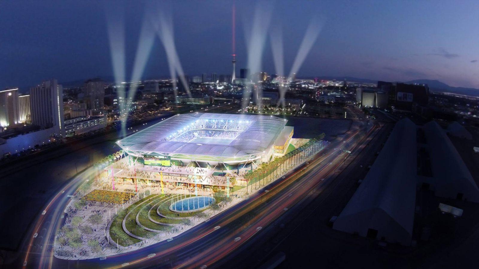 Design Las Vegas Mls Stadium Stadiumdb Com