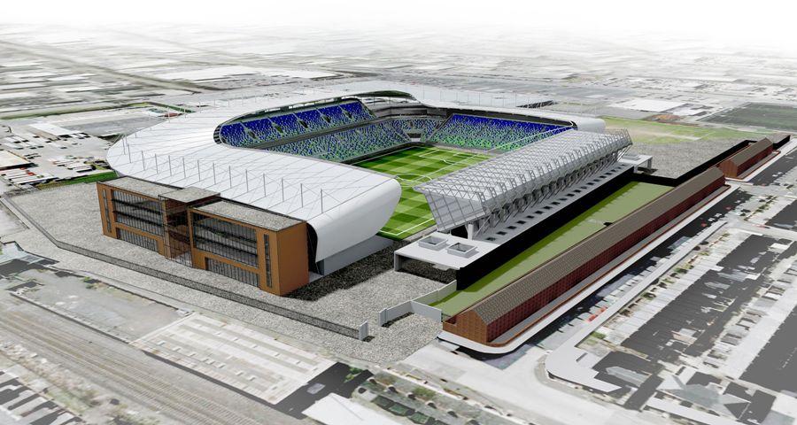 Design National Football Stadium